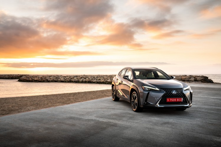Lexus UX Mercury Grey 2019